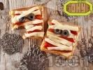 Рецепта Уплашени сандвичи за Хелоуин